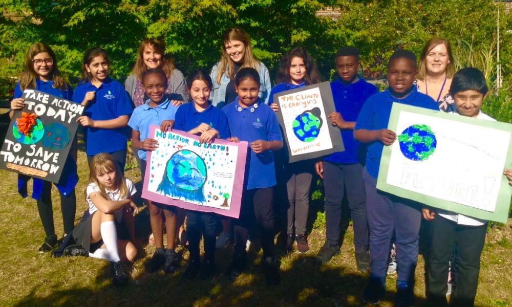 Brimsdown pupils on climate change