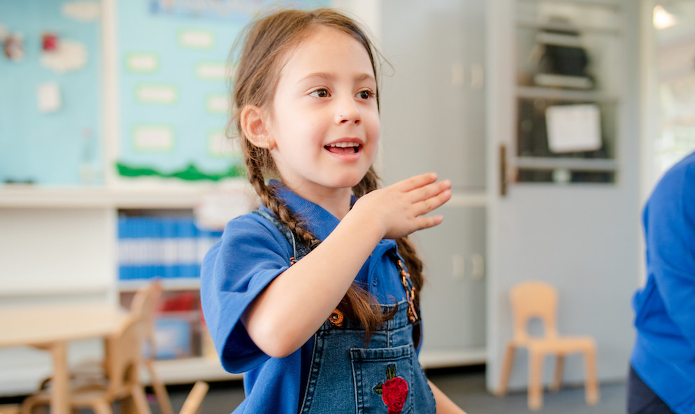 How sign language can create an inclusive learning environment